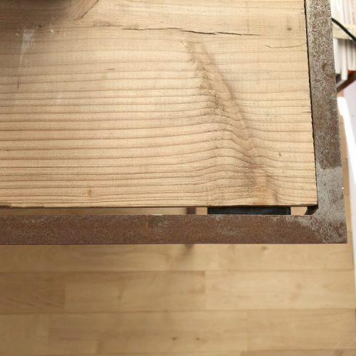 鉄板、丸棒等の錆び取り方法