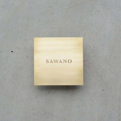 真鍮 スクエア 表札サンドブラスト